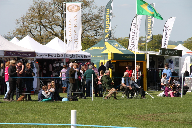 Trade Stands Burghley Horse Trials : Rockingham horse trials trade stands booking request