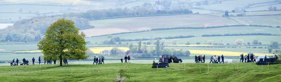 Rockingham Eventing Panorama