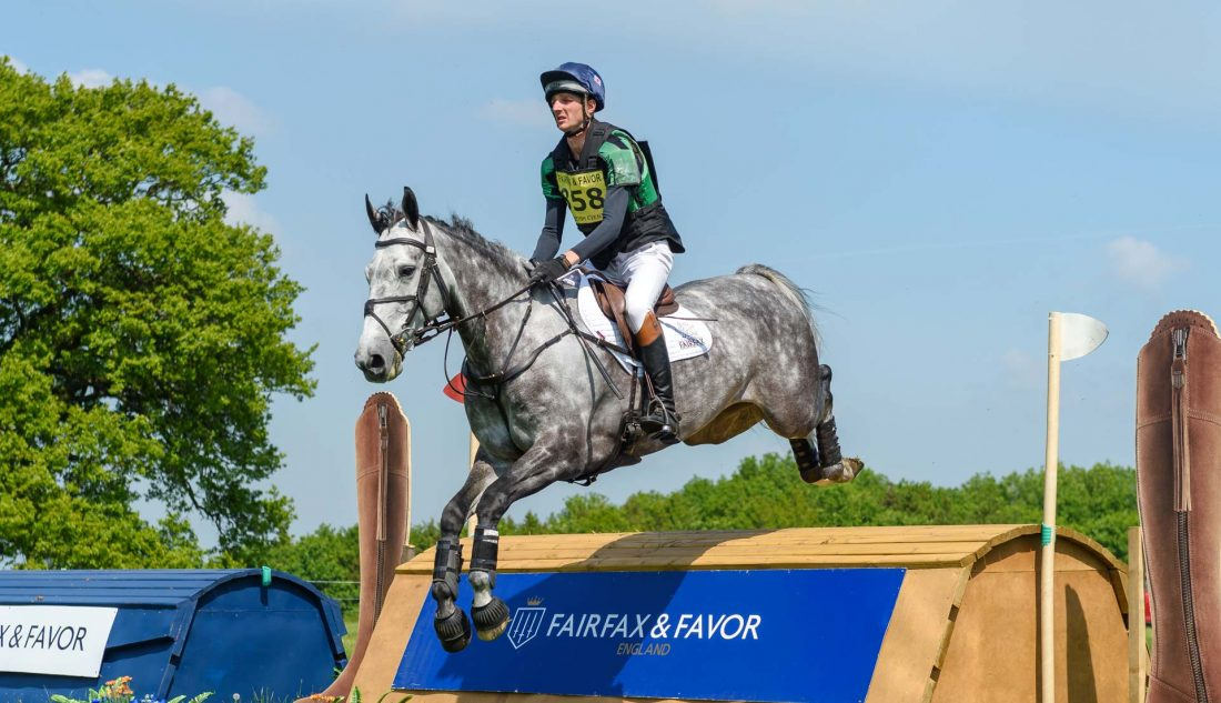 Slider 5 - Tom Jackson, Fairfax & Favor fence Rockingham Horse Trials