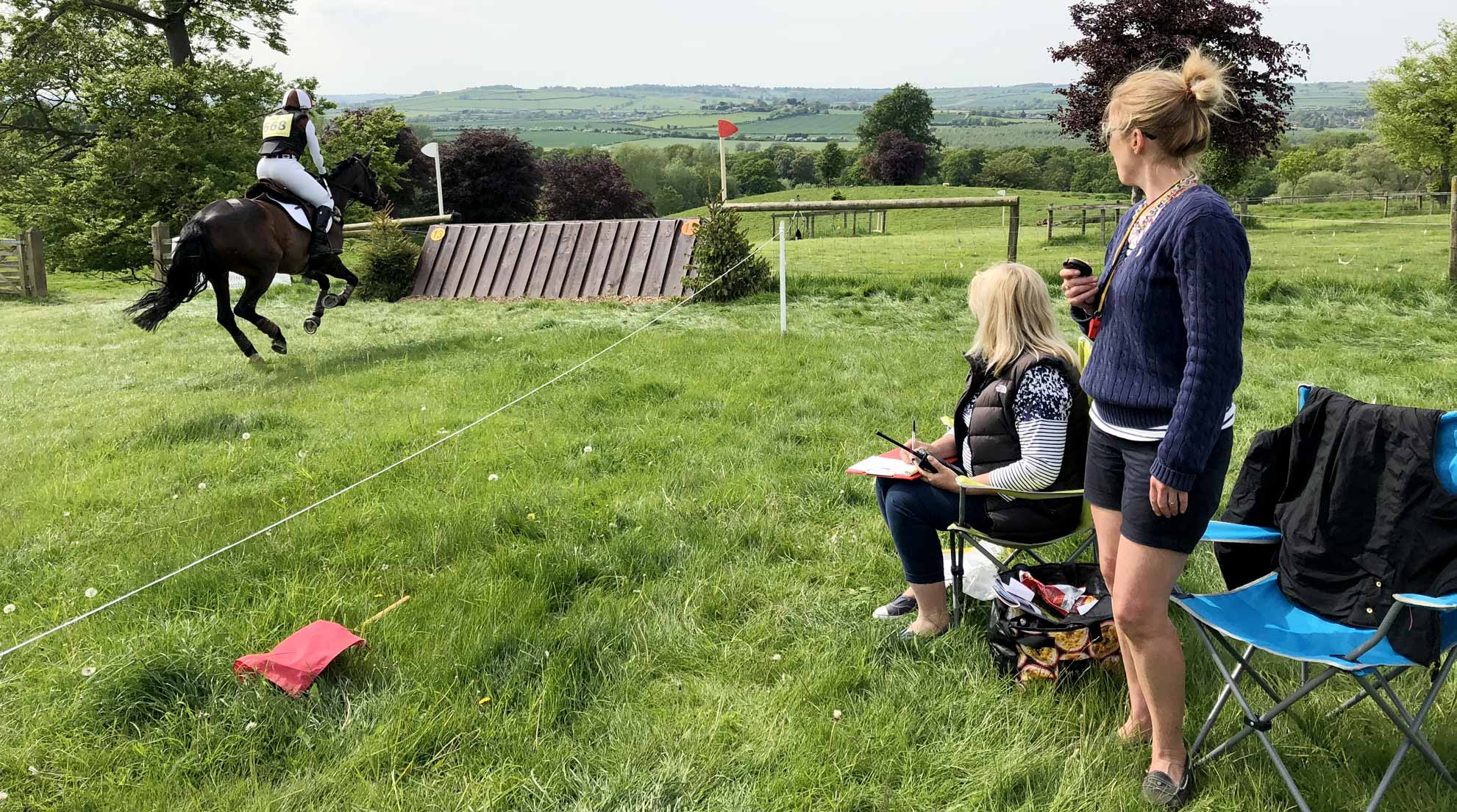 Trade Stands Burghley Horse Trials : Rockingham horse trials volunteering